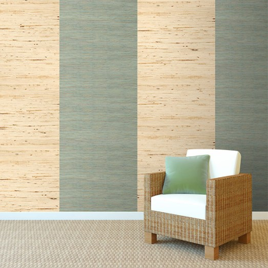 Decorating With Grasscloth Wallpaper: Unconventional Interior Design