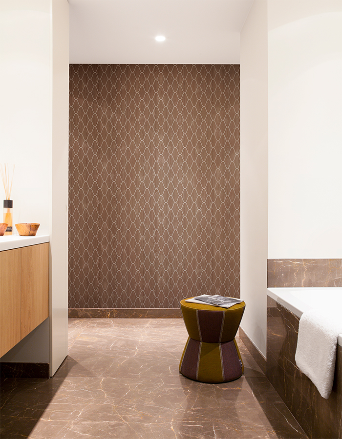 Brown Woodland Trellis Faux Wood Wallpaper by Walls Republic R2232