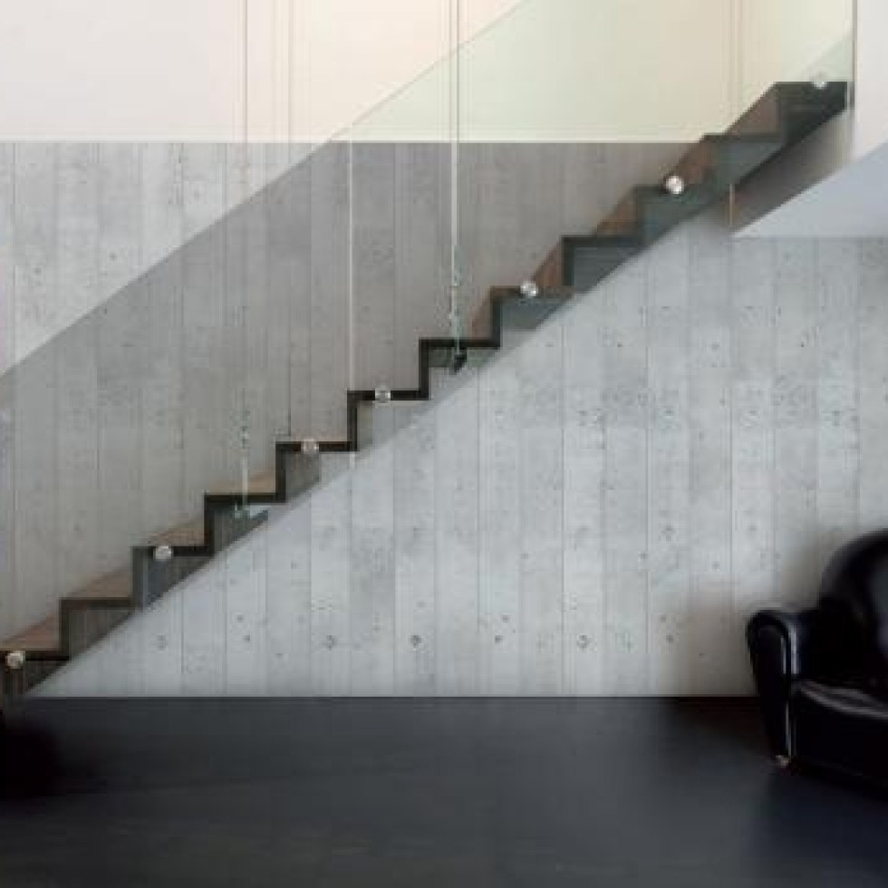 Smooth Concrete Latest Trends in Wallpaper Murals M8986