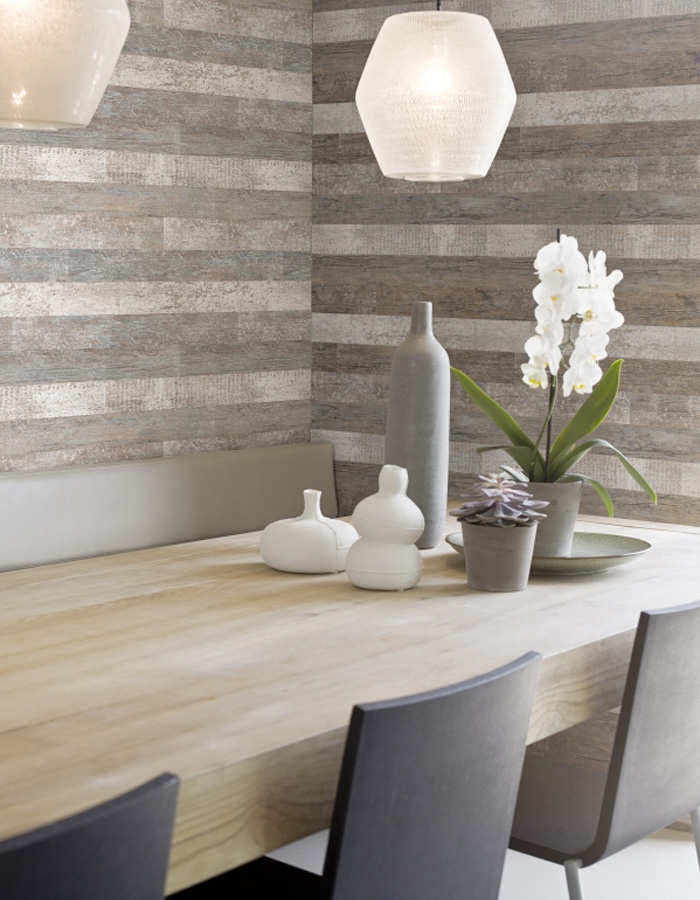 Timber Faux Wood Wallpaper, R1357