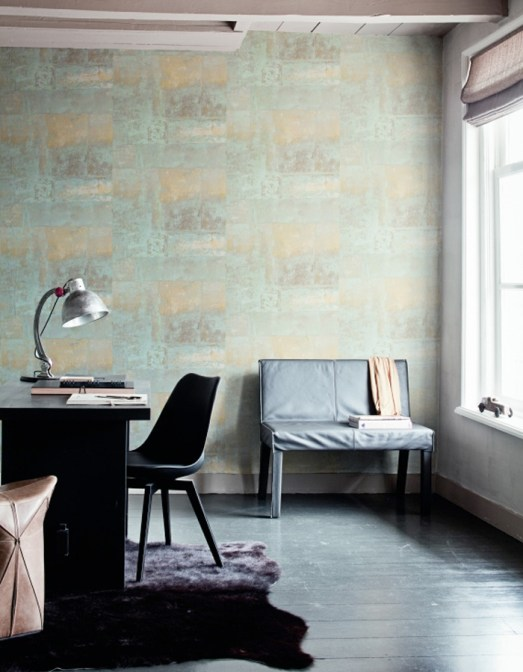 Wall Finish Trends : Wallpaper trends