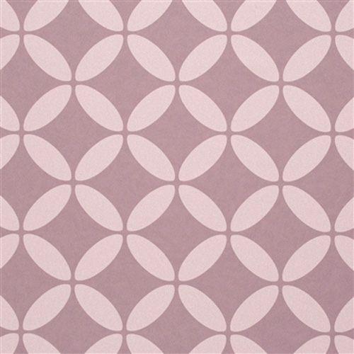 Puce Evolve Geometric Wallpaper R2538