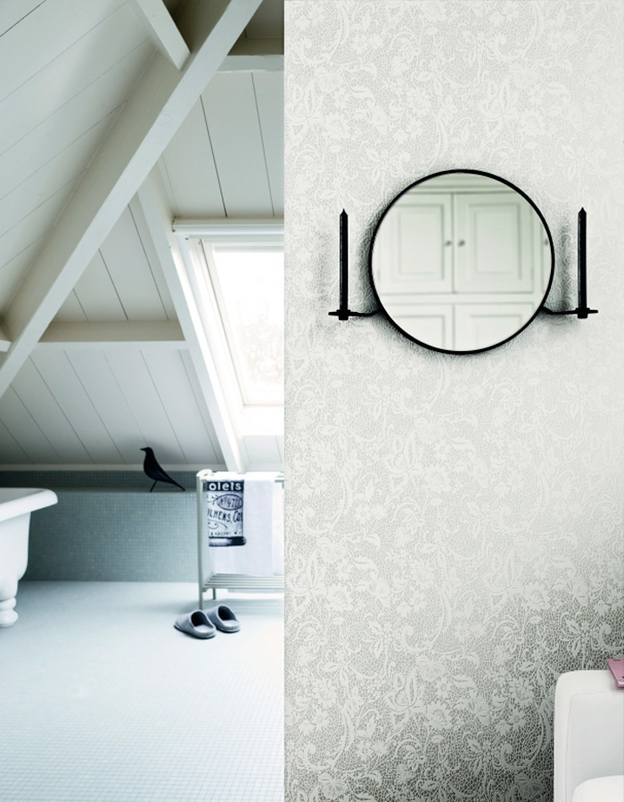 All you need to know about wallpaper in a bathroom - All you need to know about steam showers ...