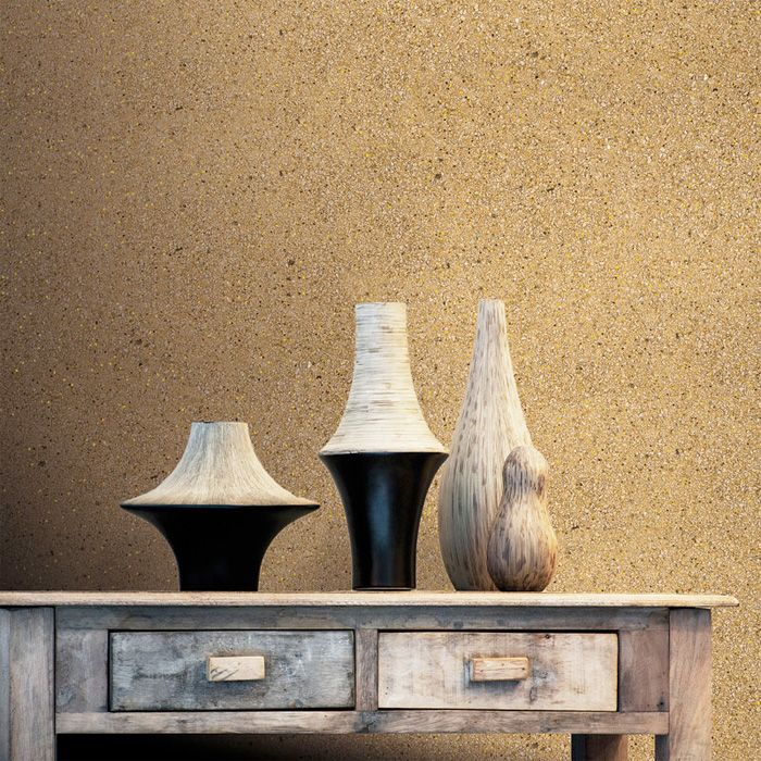 Gold Mica for the Powder Room by Walls Republic R2201