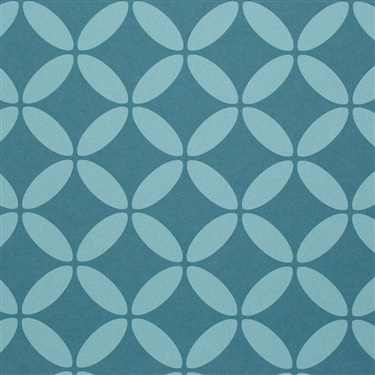 Walls Republic | Turquoise Evolve Contemporary Wallpaper R2537