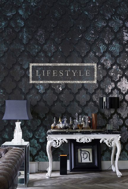 Bewitched Geometric Wall Mural by Walls Republic