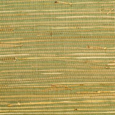 Rush Grass Green Grasscloth R2003