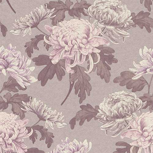 Lilac Vintage Blossoms R3030 | pantone's rose quartz and serenity wallpaper from walls republic