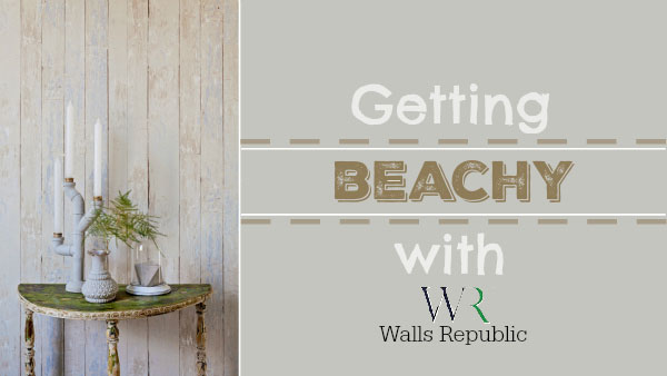Getting Beachy with Walls Republic Wallpaper