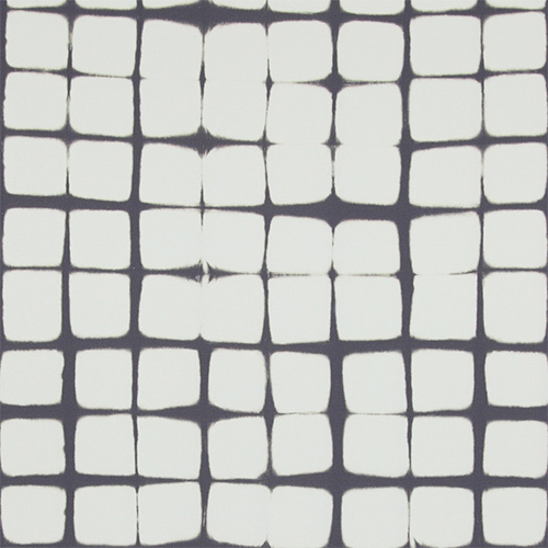 For a vintage contemporary look, try this folded dye irregular grid patterned wallpaper!