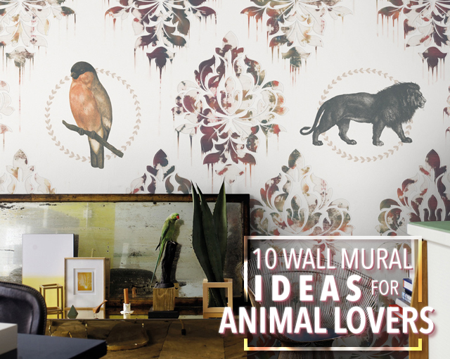 10 Wall Mural Ideas For Animal Lovers (header)