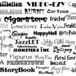 Download 100 koleksi font bagus dan keren untuk desain