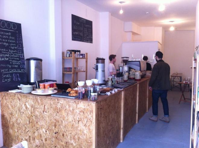 Brew Bar interior
