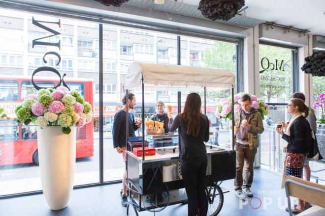 Black Vanilla & McQueens Flowers Shop Share Pop Up Shop