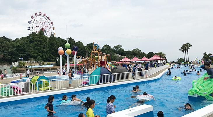 【みさき公園のプール】ぷーるらんどRiOに行ってきた(大阪府泉南郡)