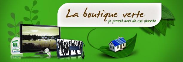 Boutique verte