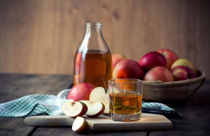 Jus de pomme home-made pour le goûter