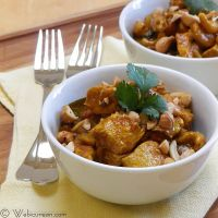 Chicken with Cashews (Balti Murgh)