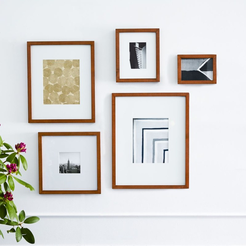 Seemly Acorn Frames How To Make A Gallery Wall West Elm Frames West ...