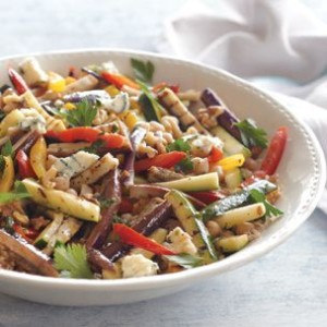Tangy Summer Vegetable Salad with Bulgur