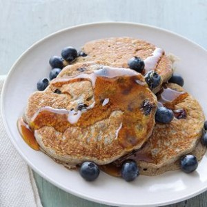 Buckwheat-Blueberry Pancakes