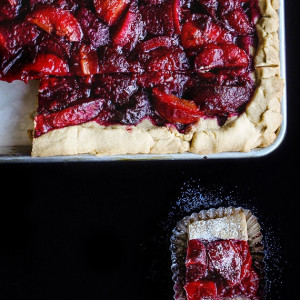 Spiced Plum Bars