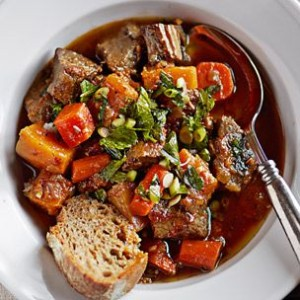 Braised Beef with Autumn Vegetables