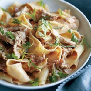 Braised Chicken Pappardelle