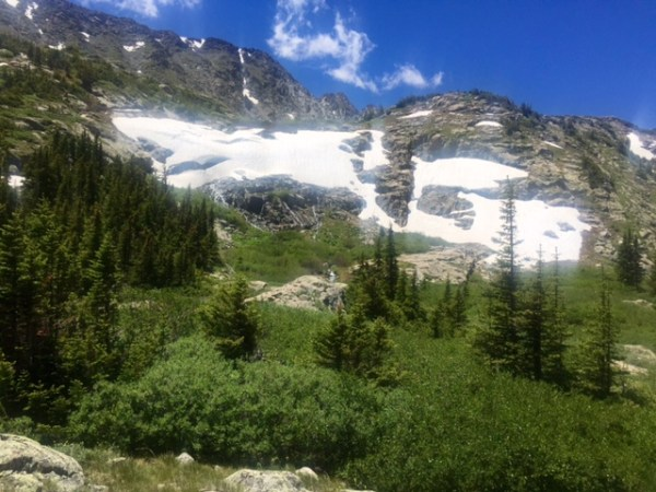 Taken at Mohawk Lakes Trail in Breckenridge. You can't get views like this from your couch.