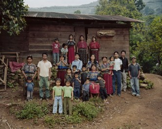 A Mayan family in Ilom, Guatemala. Photo credit: Dana Lixenberg / Skylight Pictures