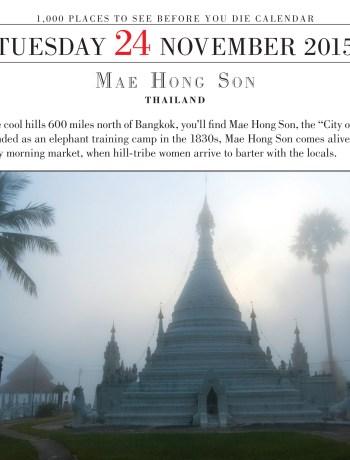 #TravelTuesday Mae Hong Song, Thailand