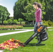 I Want The WORX! Andrew Eberhardt's Kite Army Weighs In Making Final Fall Cleanup Easy With The WORX Trivac!