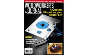 Woodworker's Journal Features the WORX ExacTrack