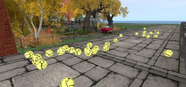 Pablo Bravo's yellow balls