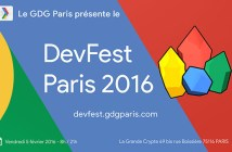 GDG DevFest Paris 2016