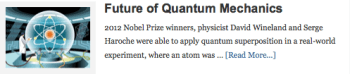 Future of Quantum Mechanics