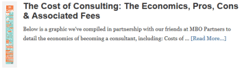 The Cost of Consulting: The Economics, Pros, Cons & Associated Fees