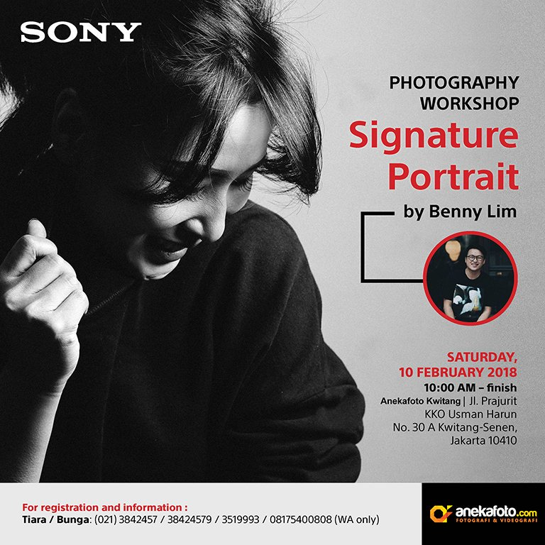 Photography Workshop Signature Portrait by Benny Lim