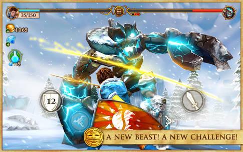 Beast Quest - Monstro de Pedra de Gelo