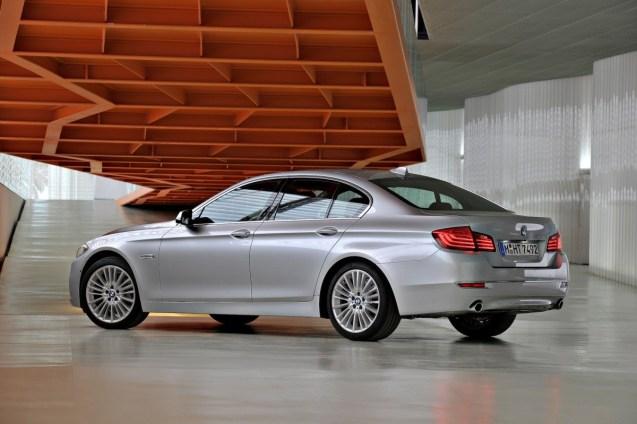 BMW Serie 5 restylée 2013/2014 : Petits changements dans la continui ...
