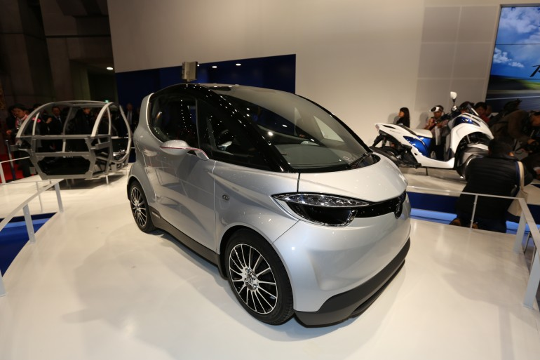 Photo Yamaha Motiv : La future F1 des centres urbains... (galerie, vidéos)