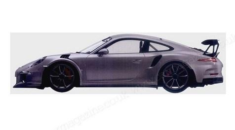 Photo  Porsche : La 911 GT3 RS révélée (vidéos)