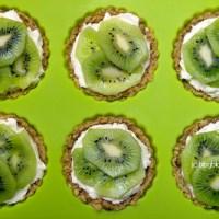 Tartelettes kiwi mascarpone.