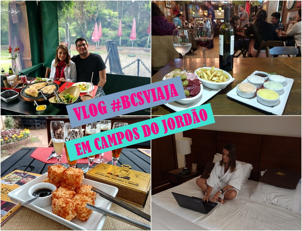 #bcsviaja – VLOG Campos do Jordão no Hotel Le Renard (Fondue, Tarundu, Passeios e mais )