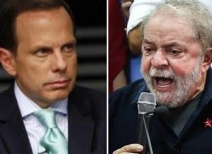 Doria e Lula podem disputar Presidência da República (Foto: Da Net)