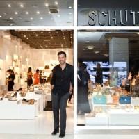 Nova loja Schutz.