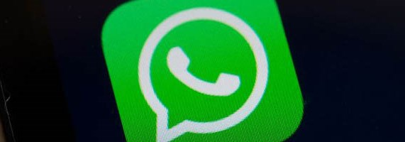 A screen shot of the popular WhatsApp smartphone application is seen after a court in Brazil ordered cellular service providers nationwide to block the application for two days in Rio de Janeiro, Brazil, on December 17, 2015. The unprecedented 48-hour blockage was to implement a Sao Paulo state court order and was to take effect at 0200 GMT Thursday, although it was not immediately clear if service providers would acquiesce to the order.The court said WhatsApp had been asked several times to cooperate in a criminal investigation, but had repeatedly failed to comply. AFP PHOTO / YASUYOSHI CHIBA