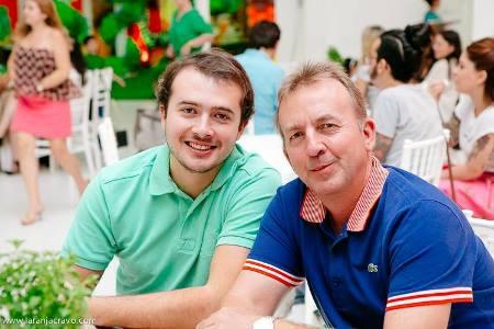 Ex-prefeito Felipão e Flipe Filho