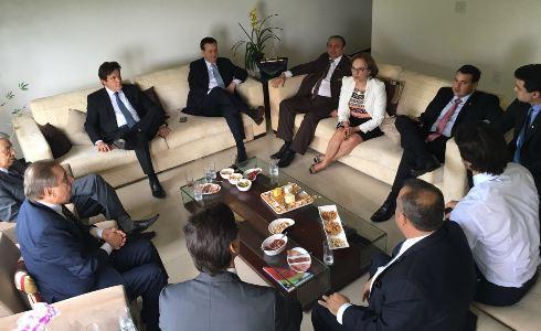 Governador reunido com bancada federal em Brasília