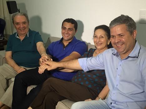 Geraldo Melo e Ednólia declaram apoio a Júlo César